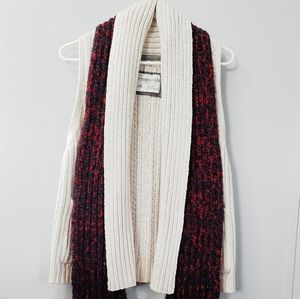 AEROPOSTALE Short sleeve sweater, scarf included